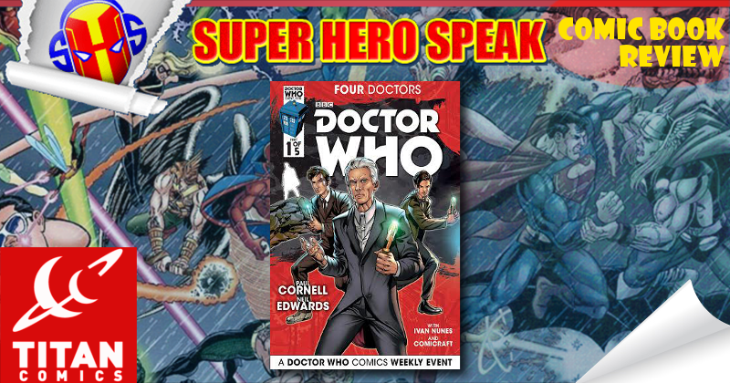 Review: Doctor Who: Four Doctors #1