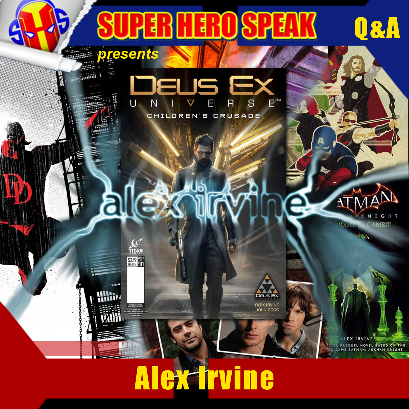 Interview: Alex Irvine