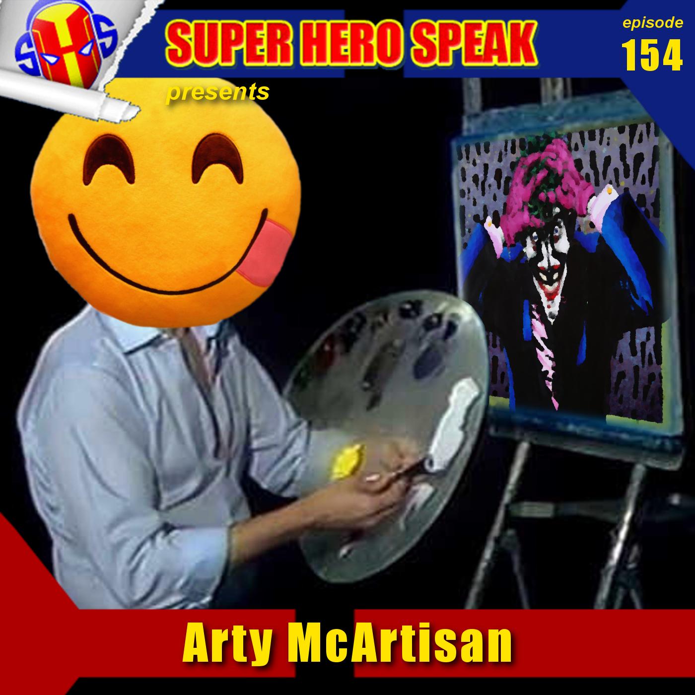 #154: Arty McArtisan