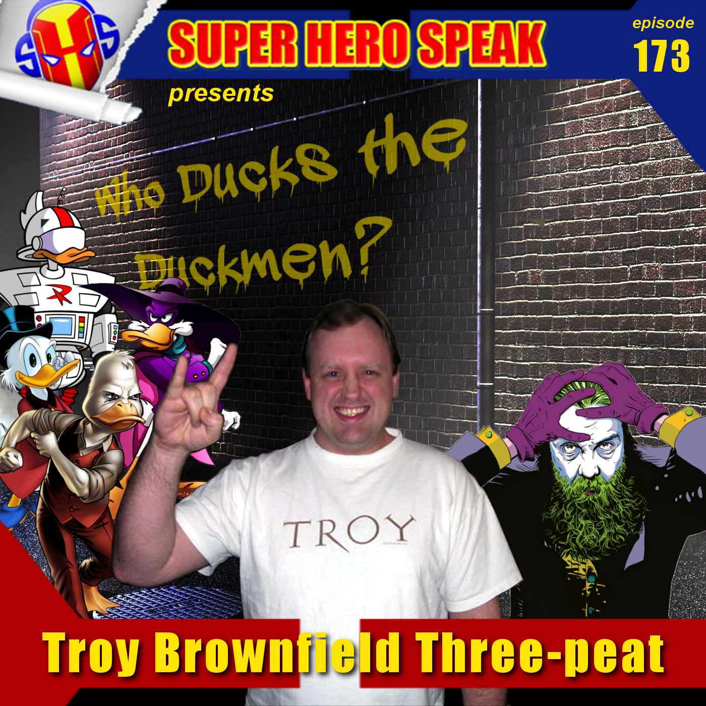 #173: Troy Brownfield Three-peat