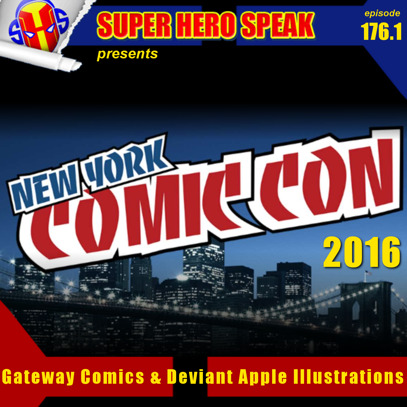 #176.1: Gateway Comics & Deviant Apple Illustrations