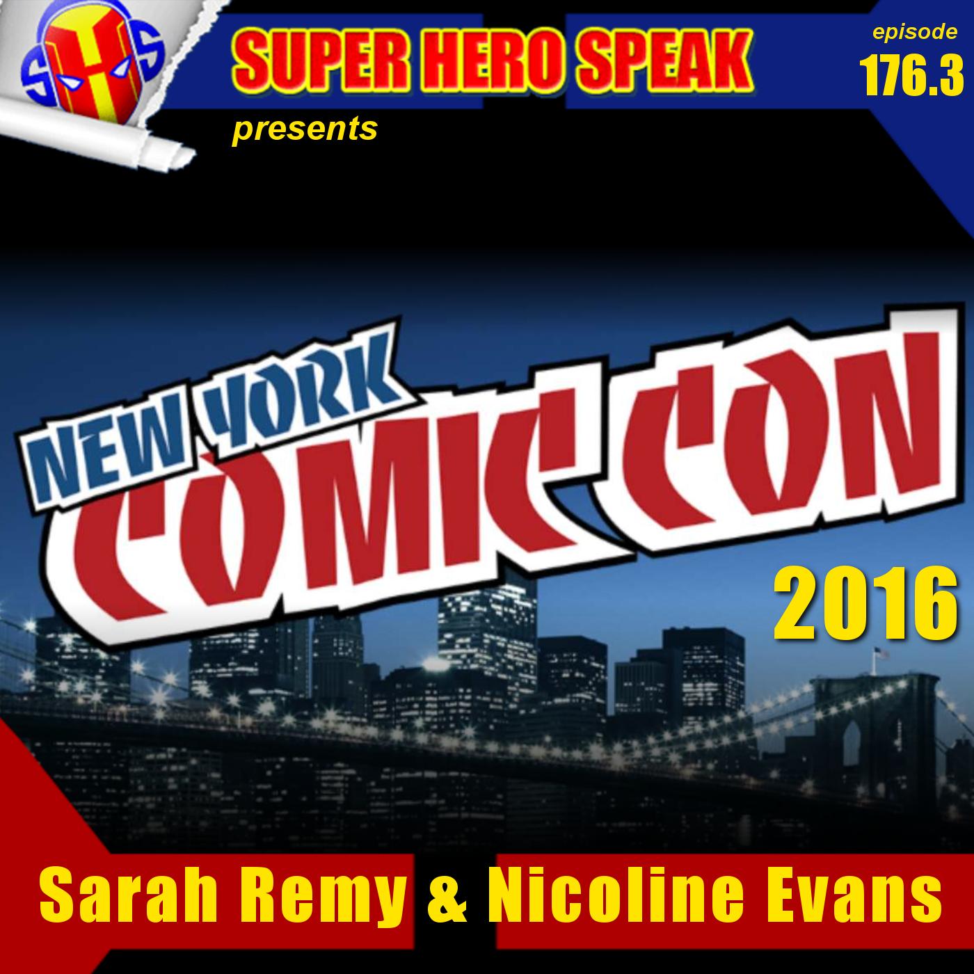 #176.3:  Sarah Remy & Nicoline Evans