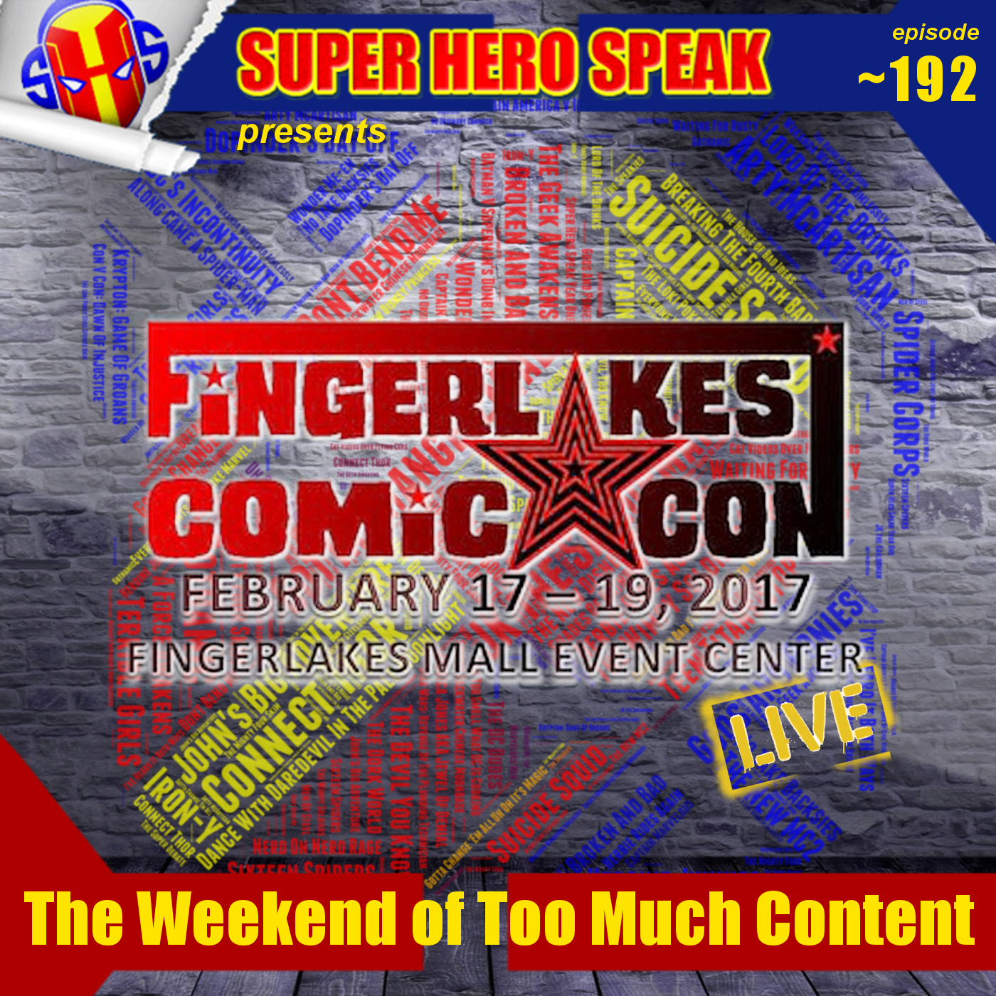 #192.1 Finger Lakes Comic Con Part 1