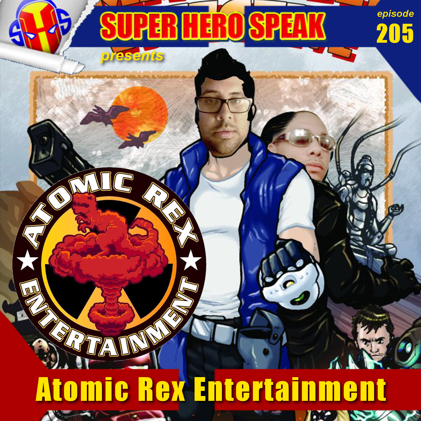 #205: Atomic Rex Entertainment