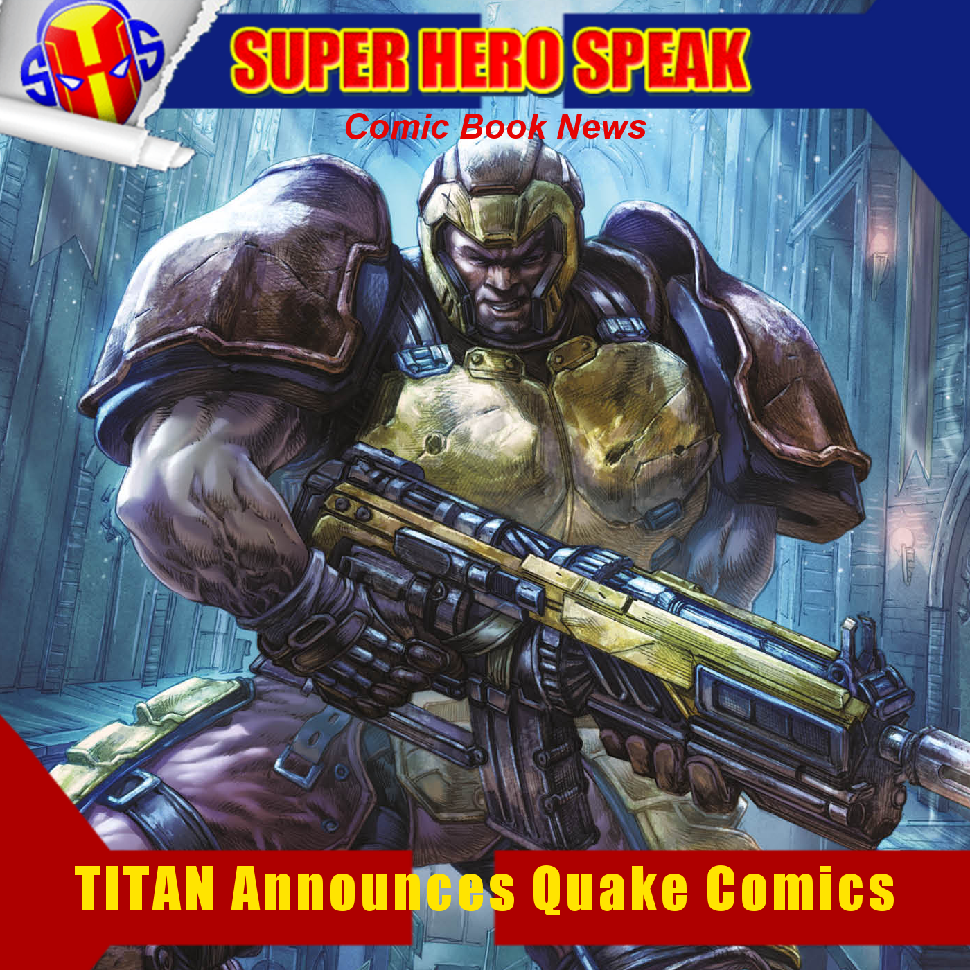 SHSNews: TITAN Announces Quake Comics