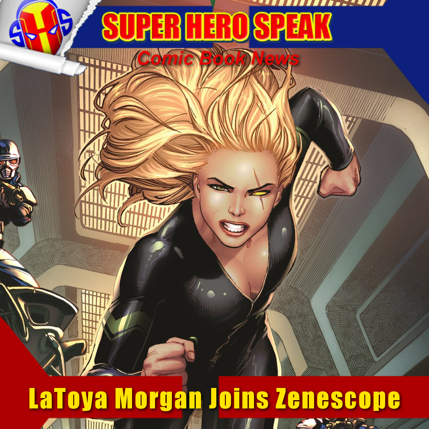 SHSNews: LaToya Morgan Joins Zenescope