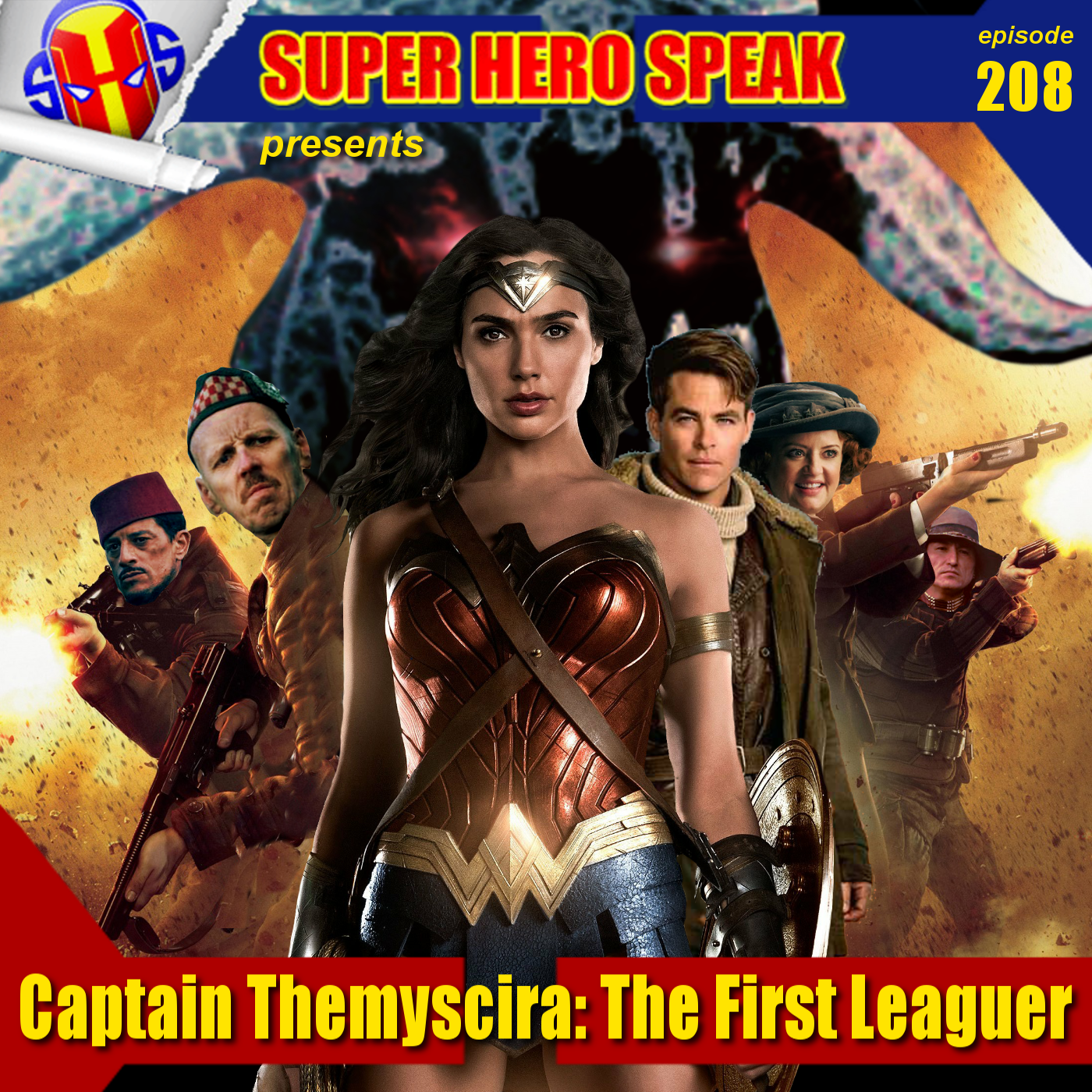 #208: Captain Themyscira: The First Leaguer