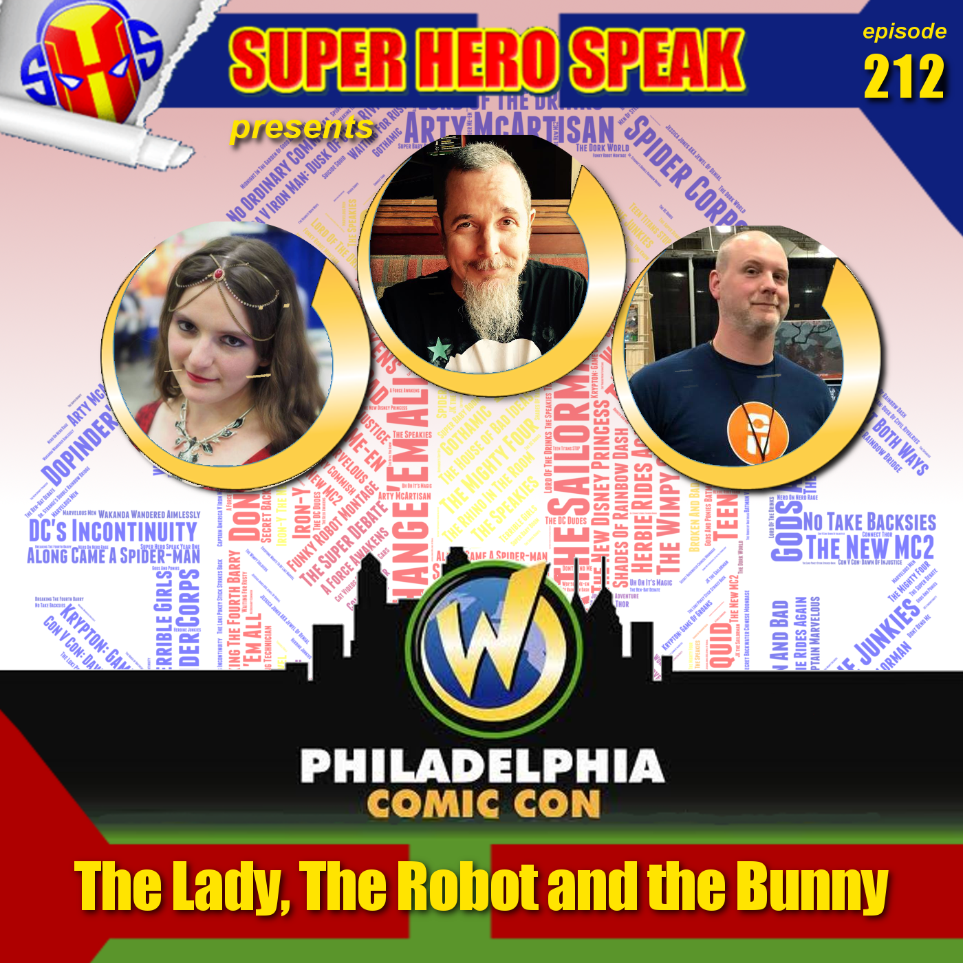#212: The Lady, The Robot and the Bunny