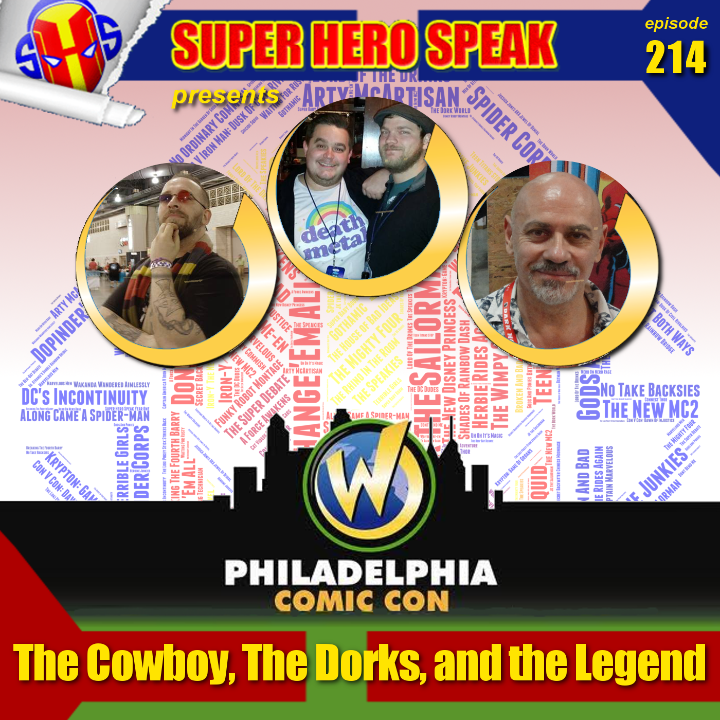 #214: The Cowboy, The Dorks, and the Legend