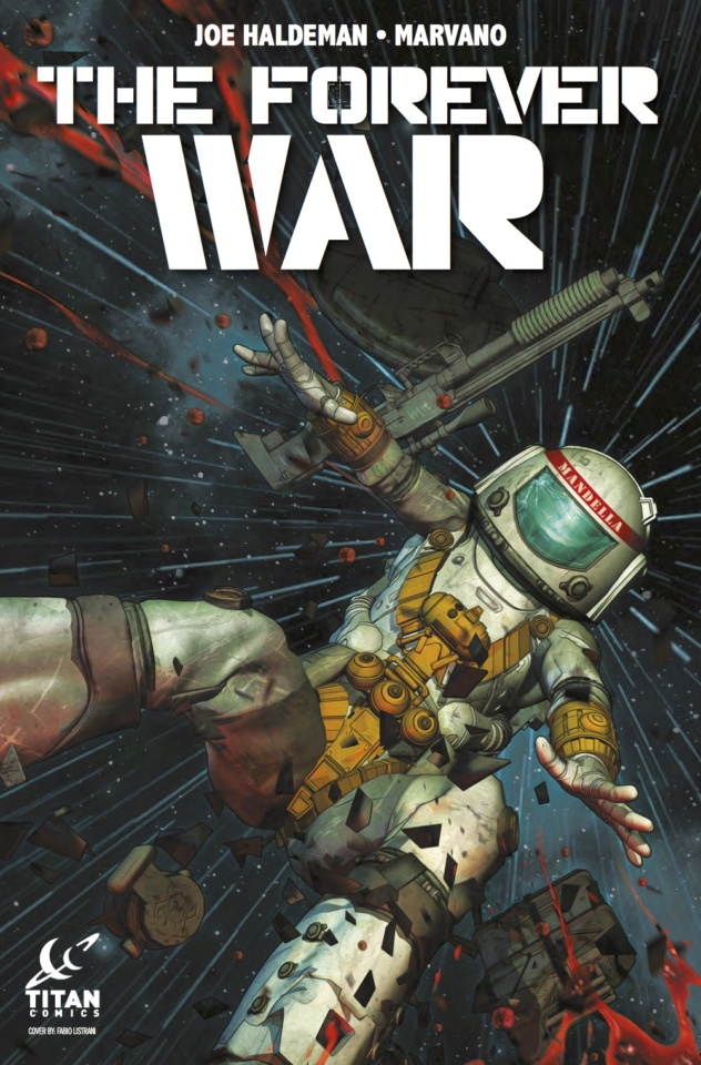 Cover of The Forever War #5 from Titan Comics