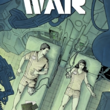 Cover B for the Forever War #4 from Titan Comics