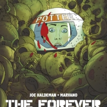 Cover C for The Forever War #5. Art by I.N.J. Culbard.
