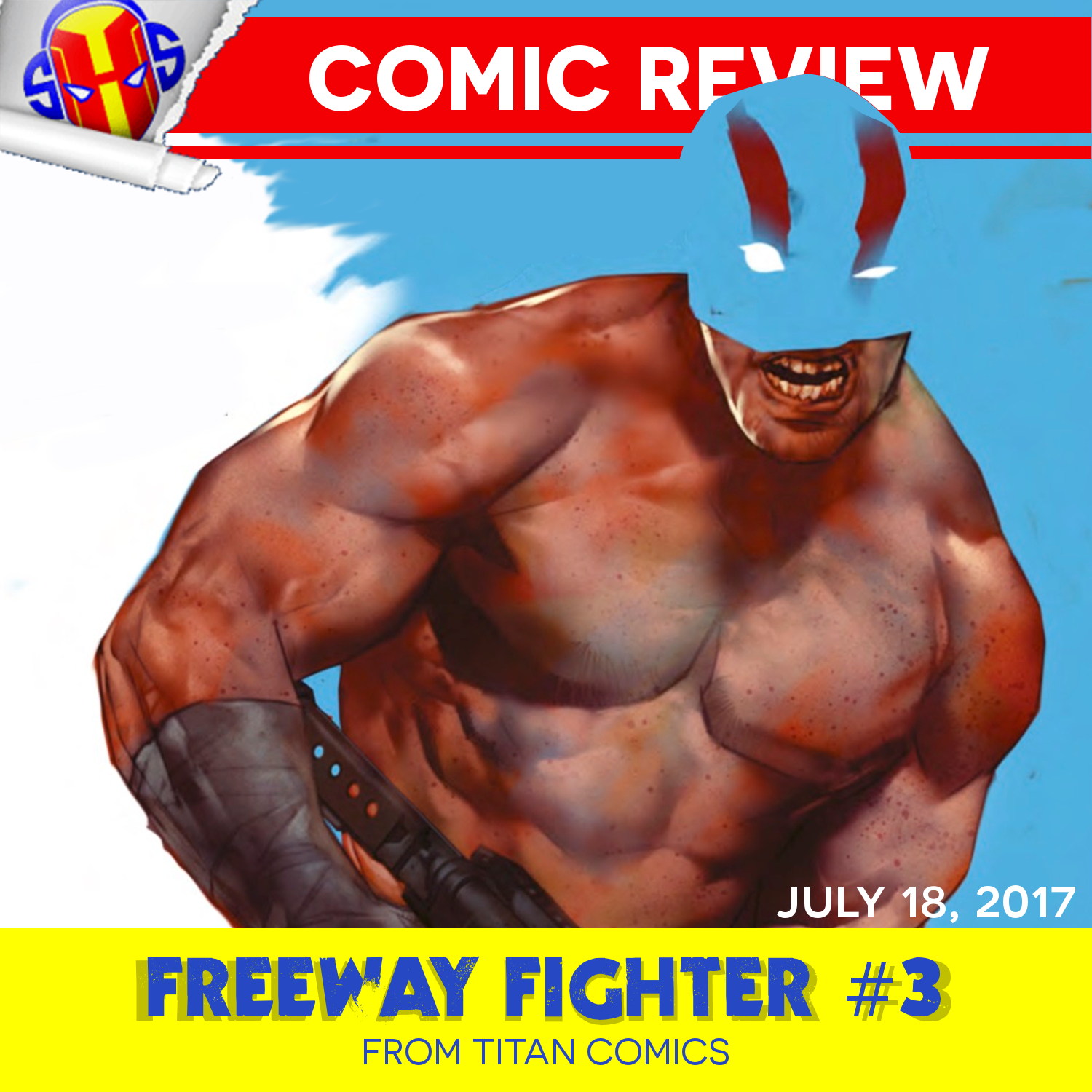 REVIEW: Freeway Fighter #3