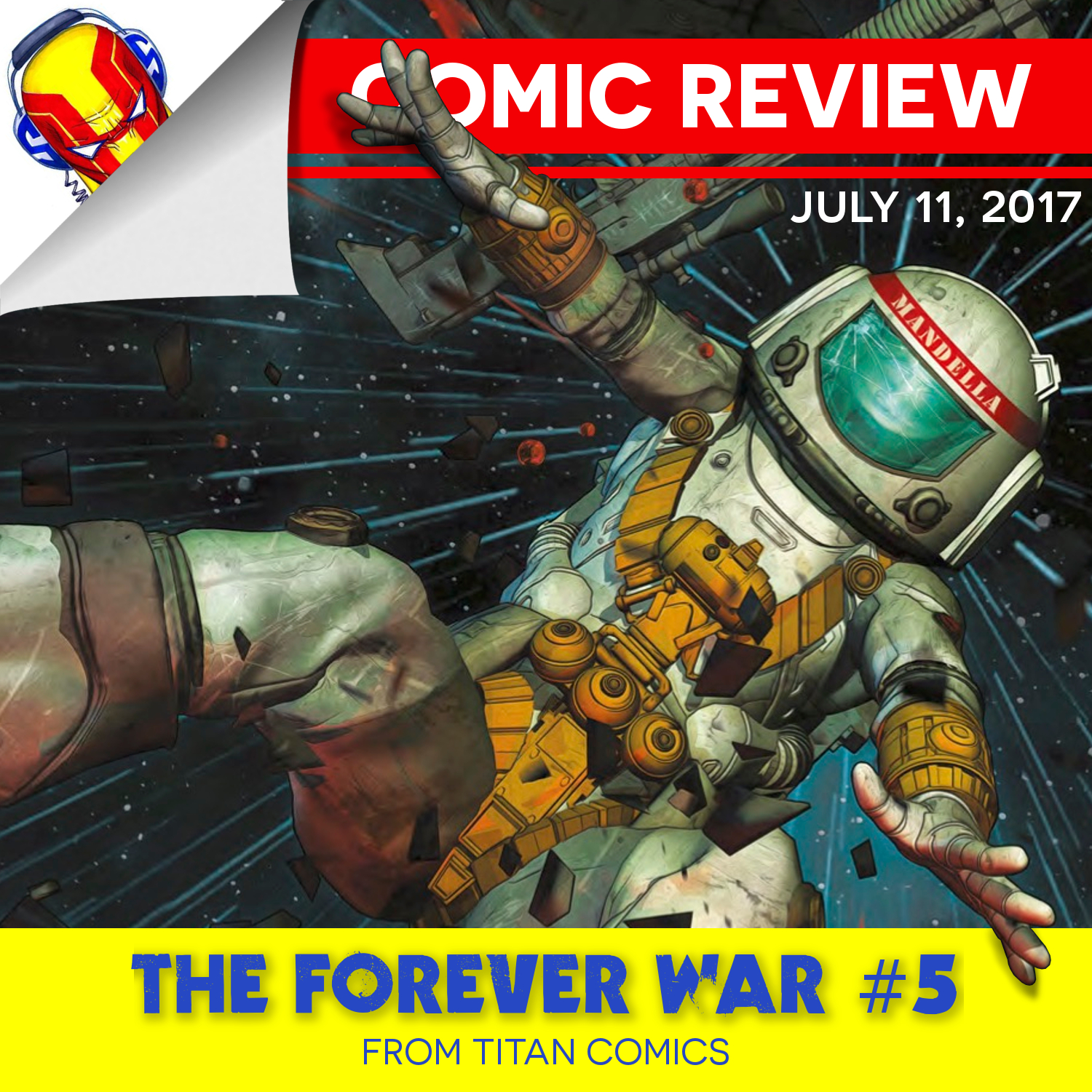 REVIEW: The Forever War #5