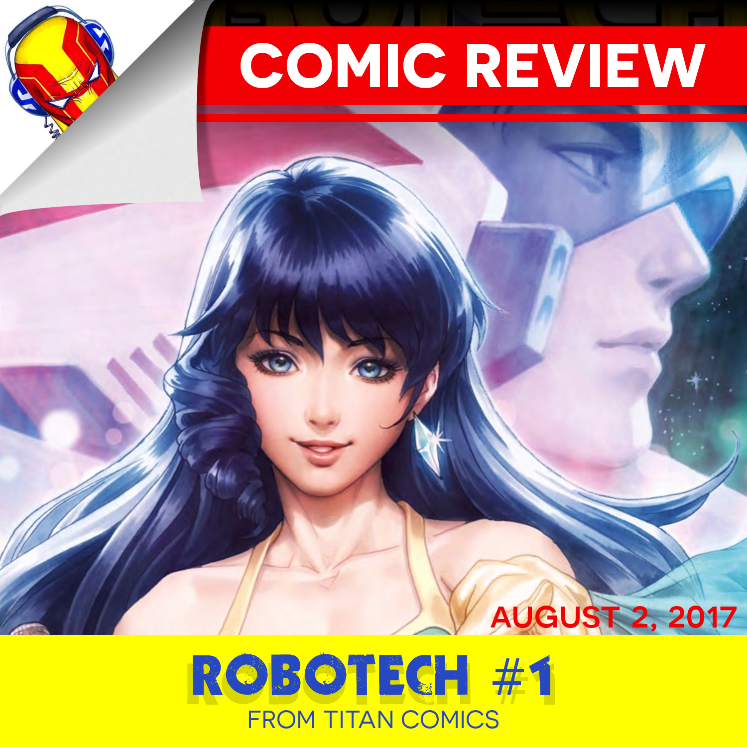 REVIEW: ROBOTECH #1
