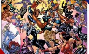 Where are the female Superheroes?