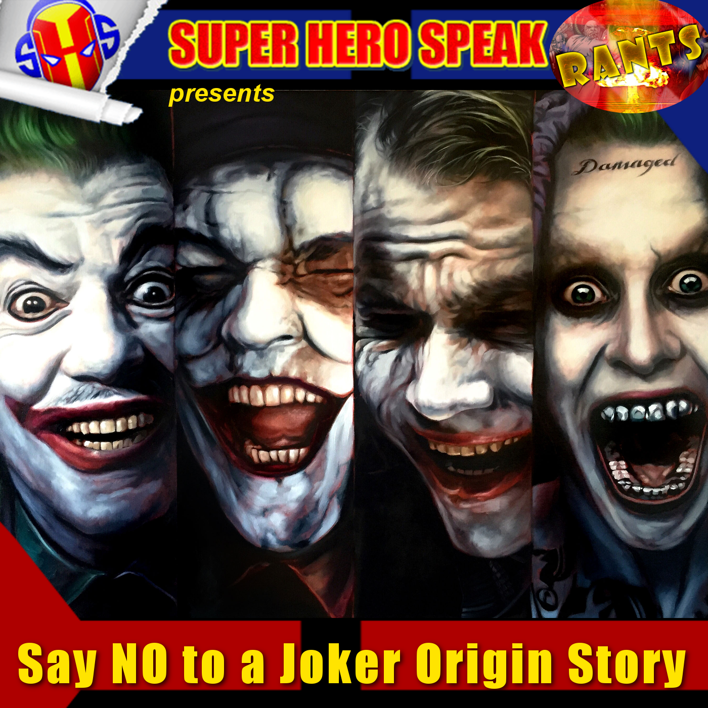 Rant: Say NO to a Joker Origin Story
