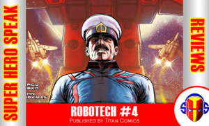 REVIEW: Robotech #4
