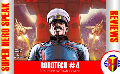 REVIEW: Robotech #4