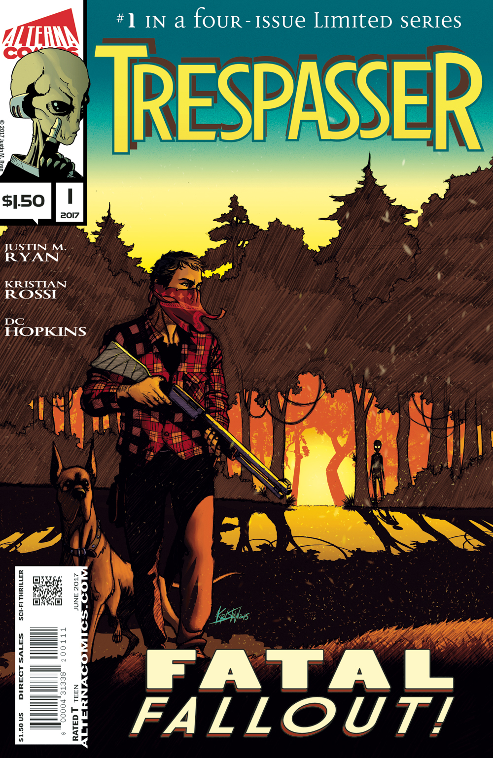 Everything Ends this December in Alterna Comics' TRESPASSER